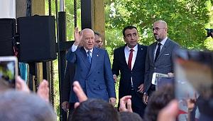 MHP Lideri Türkmen Beyi Bahçeli Karaman'da Coşkuyla Karşılandı