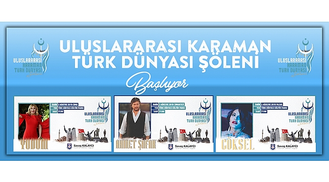 Türk Dünyası Şöleni Programı Belli Oldu