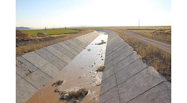 KOP'tan Süleymanhacı Gölü İçin İlk Dememe Suyu Verildi
