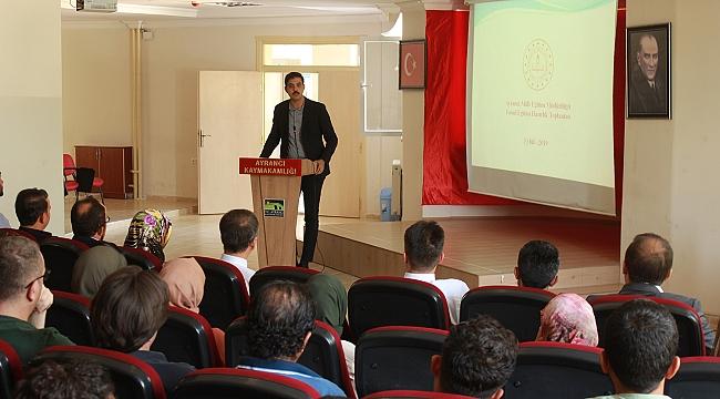 Ayrancı'da Temel Eğitim Hazırlık Toplantısı Yapıldı