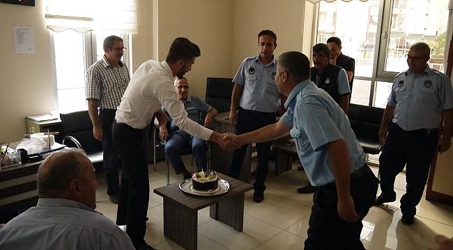 Ermenek Belediyesi 'Zabıta Haftsını' Pasta Keserek Kutladı