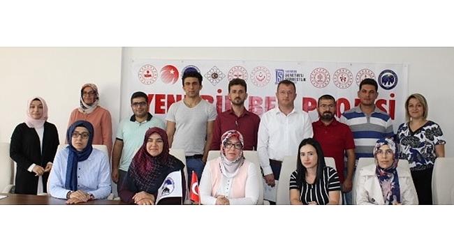 'Yeni Bir Ben' Projesi İçin Milli Eğitim Müdürlüğünde Toplantı