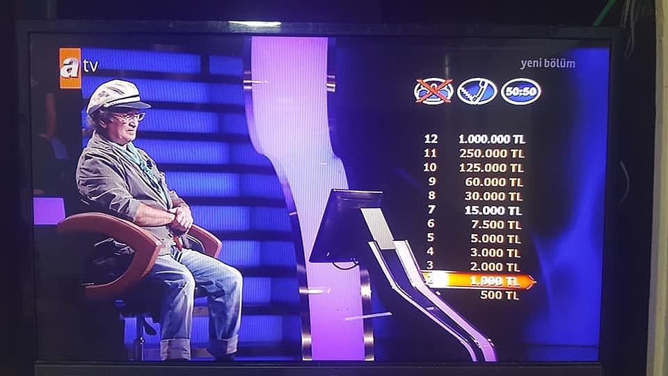 Baran Kim Milyoner Olmak İster Yarışmasına Katıldı