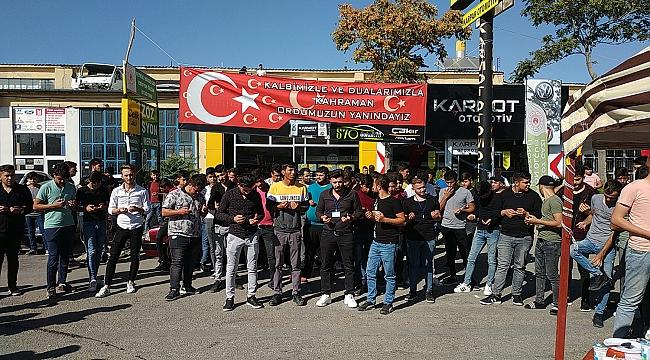 Karamanlı Gençlerden Barış Pınarı Harekatı'na Destek