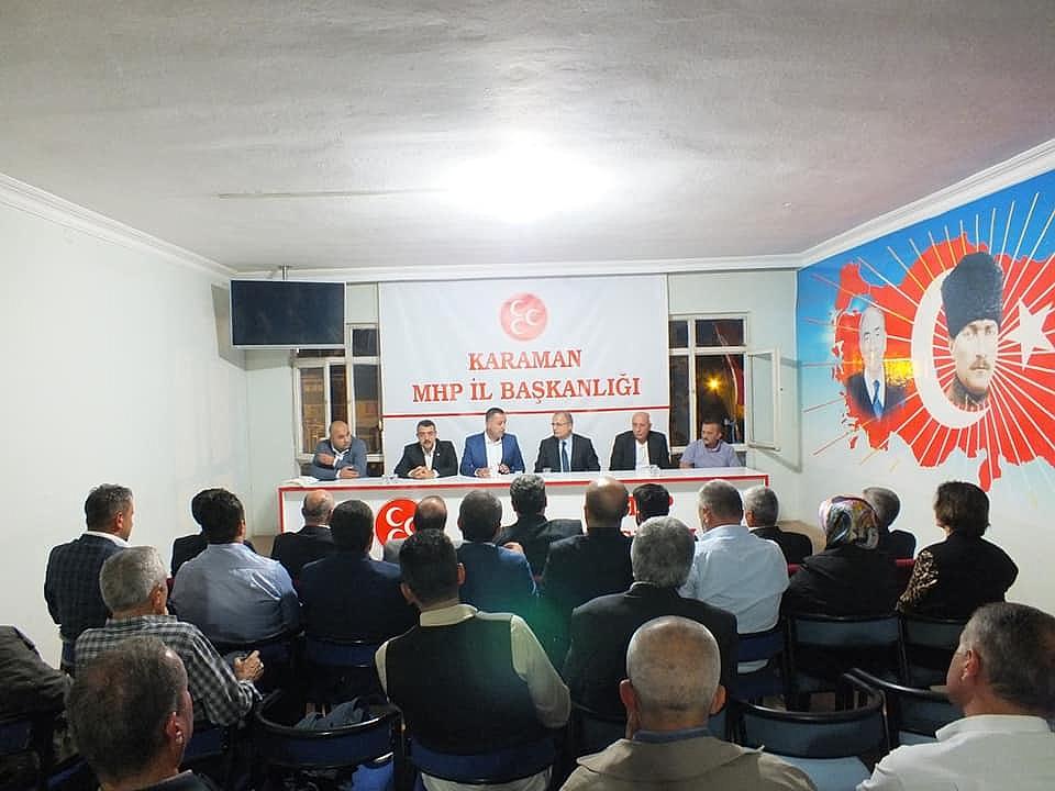 MHP İlçe ve Beldelerde İstişare Toplantısı Yapacak
