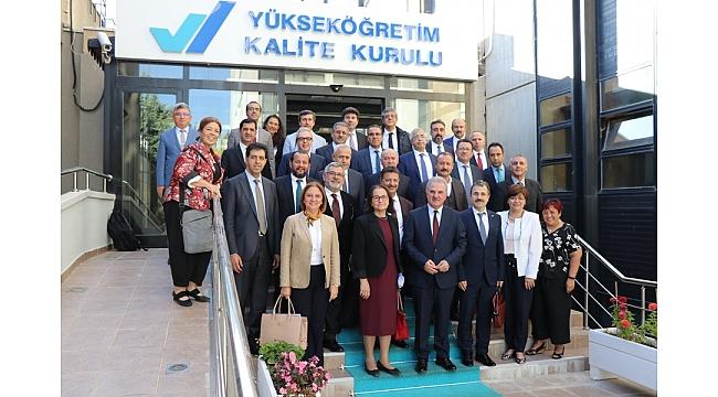 Rektör Akgül, Yükseköğretim Kalite Kurulu Toplantısına Katıldı
