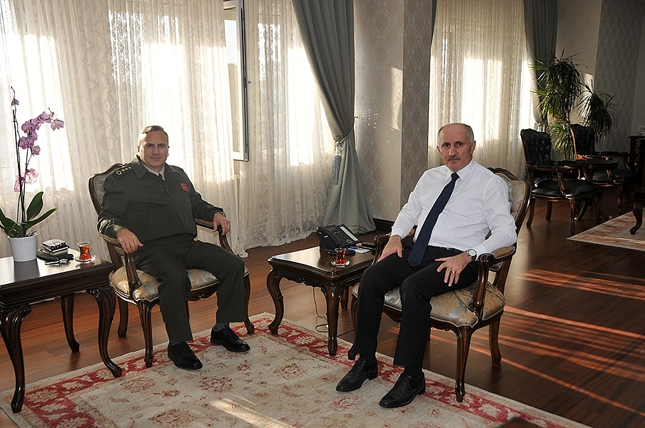 Asal Bölge Başkanı Albay Mustafa Turgut'tan Vali Meral'e Ziyaret