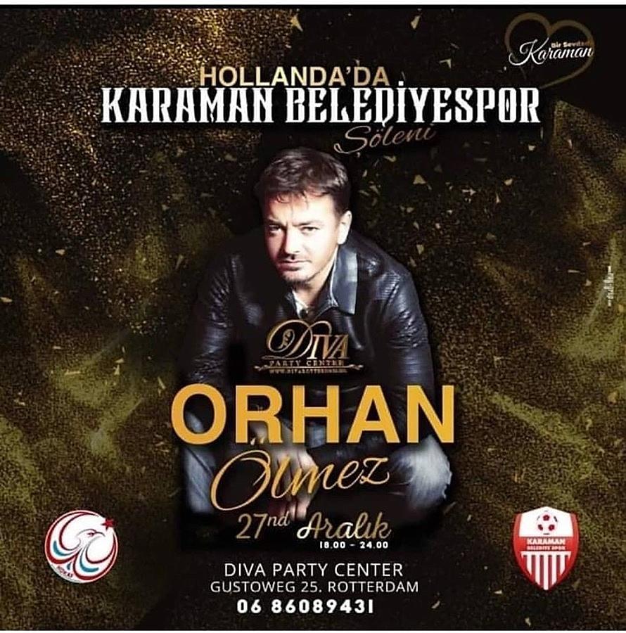 Hollanda'da Karaman Belediyespor'a Destek Konseri