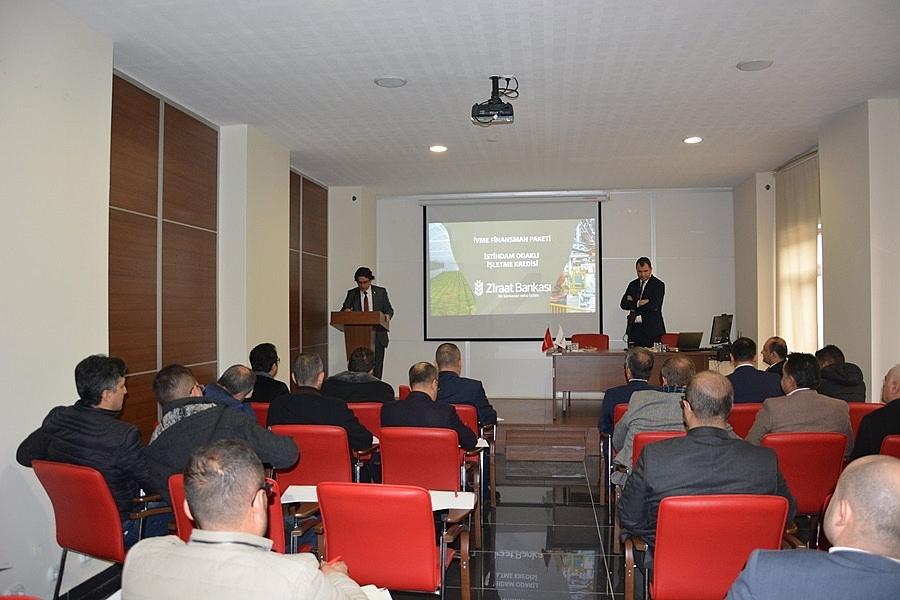 İstihdam Odaklı İşletme Kredisi İle İlgili Bilgilendirme Toplantısı Yapıldı