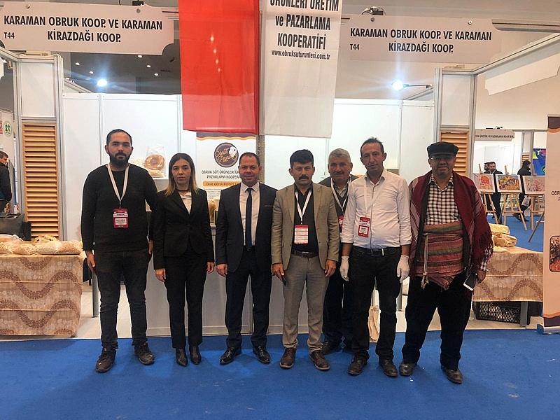 Türkiye Kooperatifler Fuarı'ında Karaman'dan 2 Kooperatif İlgi Gördü
