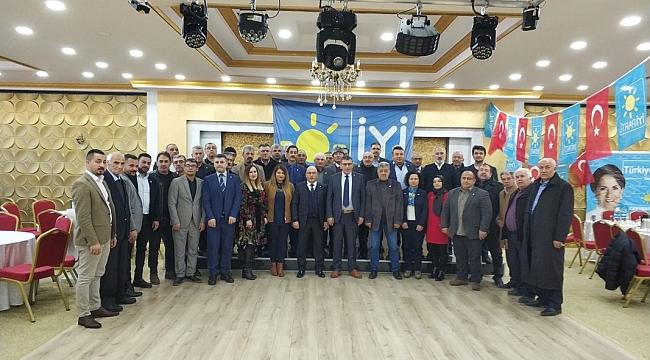 İyi Parti Karaman İl Başkanı Hatipoğlu, Yeni Yönetimini Tanıttı