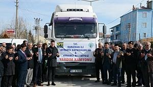 Ayrancı'da Deprem Bölgesi İçin Yardım Seferberliği