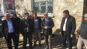Vali Meral'den Ekinözü Köyü İle Akçaşehir Kasabasına Ziyaret