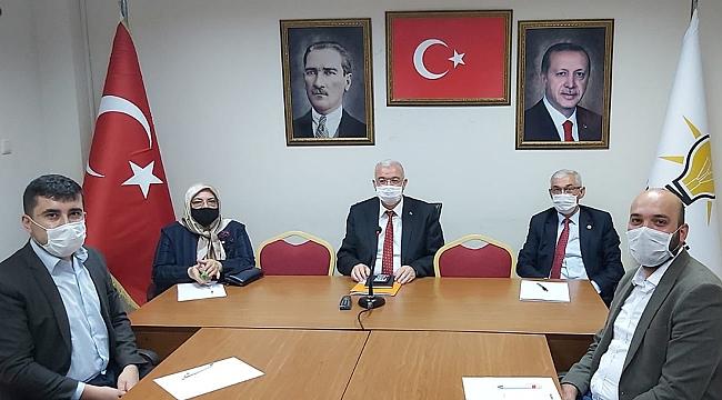 Çağlayan, Cumhurbaşkanı Erdoğan'a Karaman'ın Sorunlarını İletti