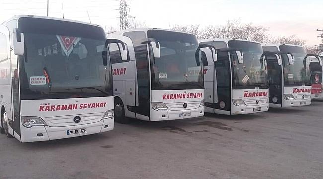 Konya Otobüs Seferleri Başlıyor!