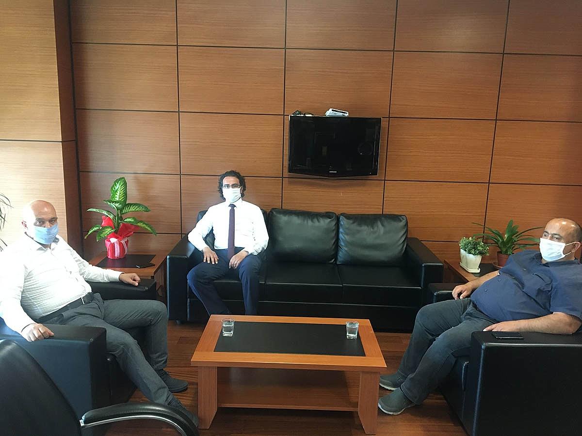 Çevre Yönetimi Genel Müdür Yardımcısı Çalışkan'dan KTSO'ya Ziyaret