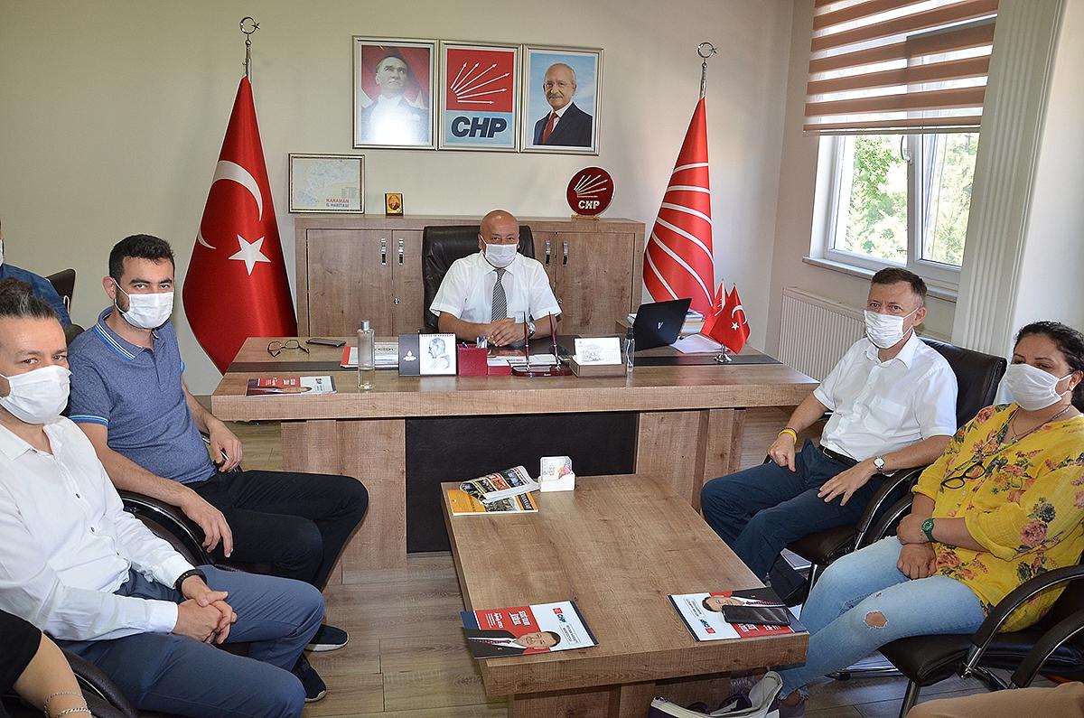 CHP Genel Başkan Aday Adayı Aytuğ Atıcı'dan CHP'ye Ziyaret