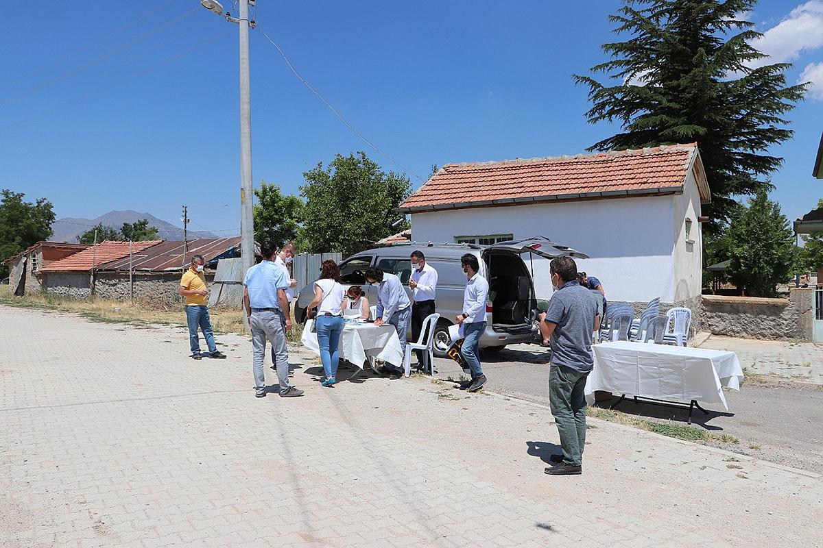 Karalgazi Köyünde ÇED Toplantısına Köylü Katılmadı
