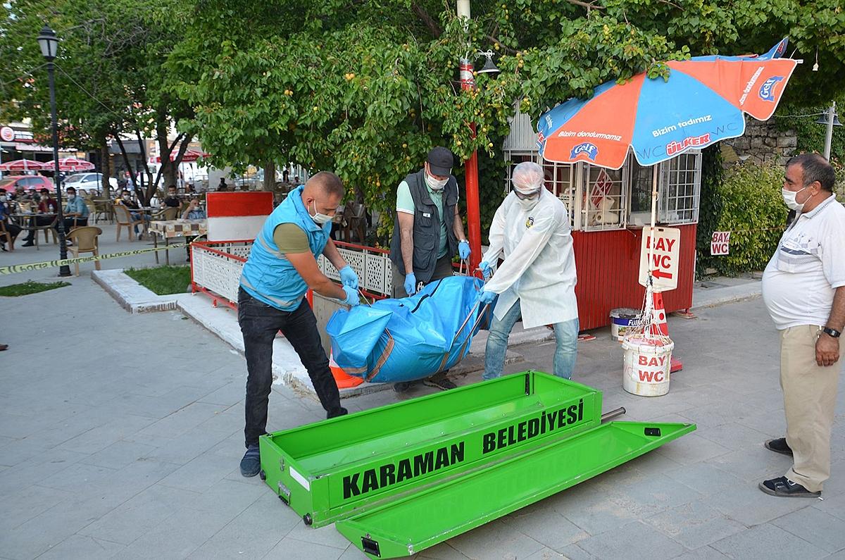 Karaman'da Bir Kişi, Umumi Tuvalette Ölü Bulundu
