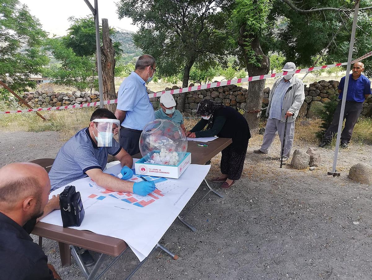 Madenşehri Köyü 2. Etap Kura Çekimi Yapıldı