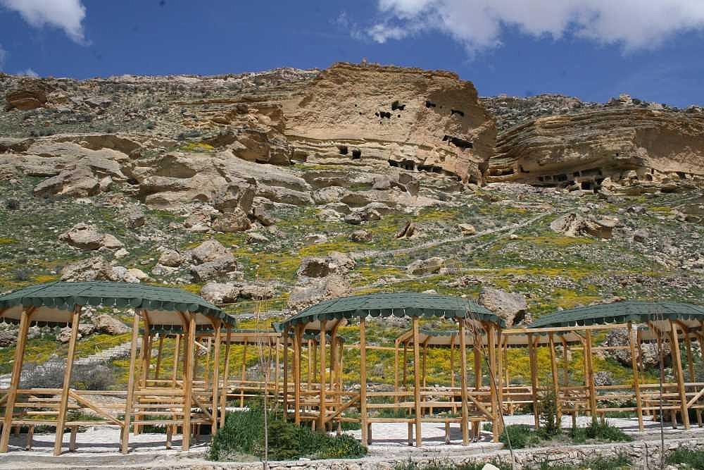 Manazan Mağaraları'nda Çevre Düzenleme Projesi Yapıldı