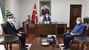 Anadolu Ajansından Vali Işık'a Ziyaret
