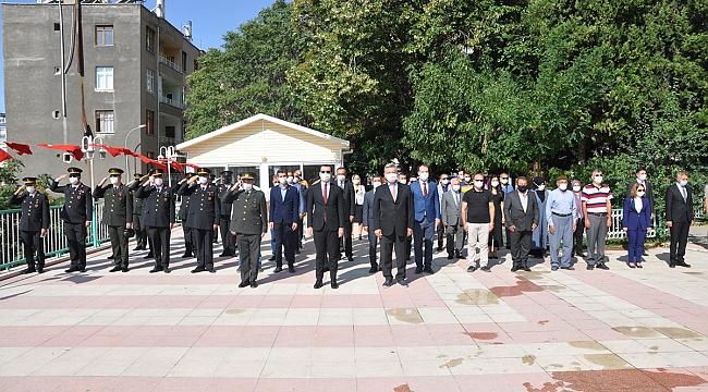 Ermenek'te Gaziler Günü Kutlandı
