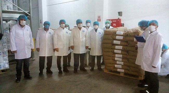 Karaman'dan Uzak Doğuya Peynir Altı Suyu Tozu İhracatları Başladı