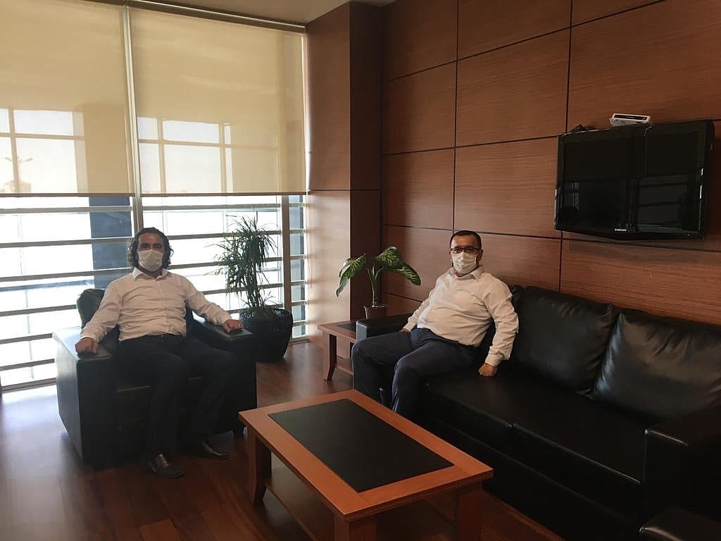 Karaman SGK İl Müdürü Serdar Fındık'dan KTSO'ya Ziyaret