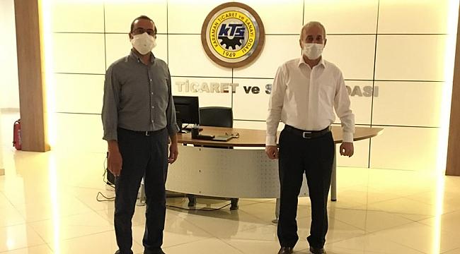 Karaman Ticaret İl Müdürü Adem Özcan'dan KTSO'ya Ziyaret