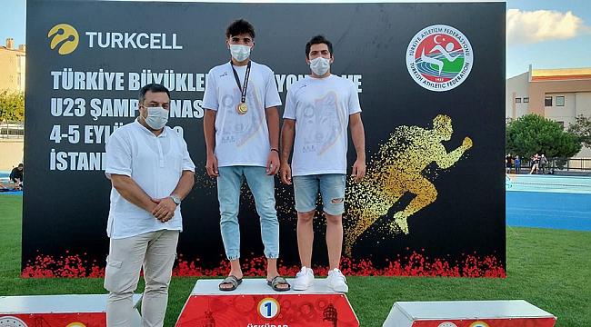 Türkiye Şampiyonu Olan Yavuz Şalkacı Karaman'ın Gururu Oldu