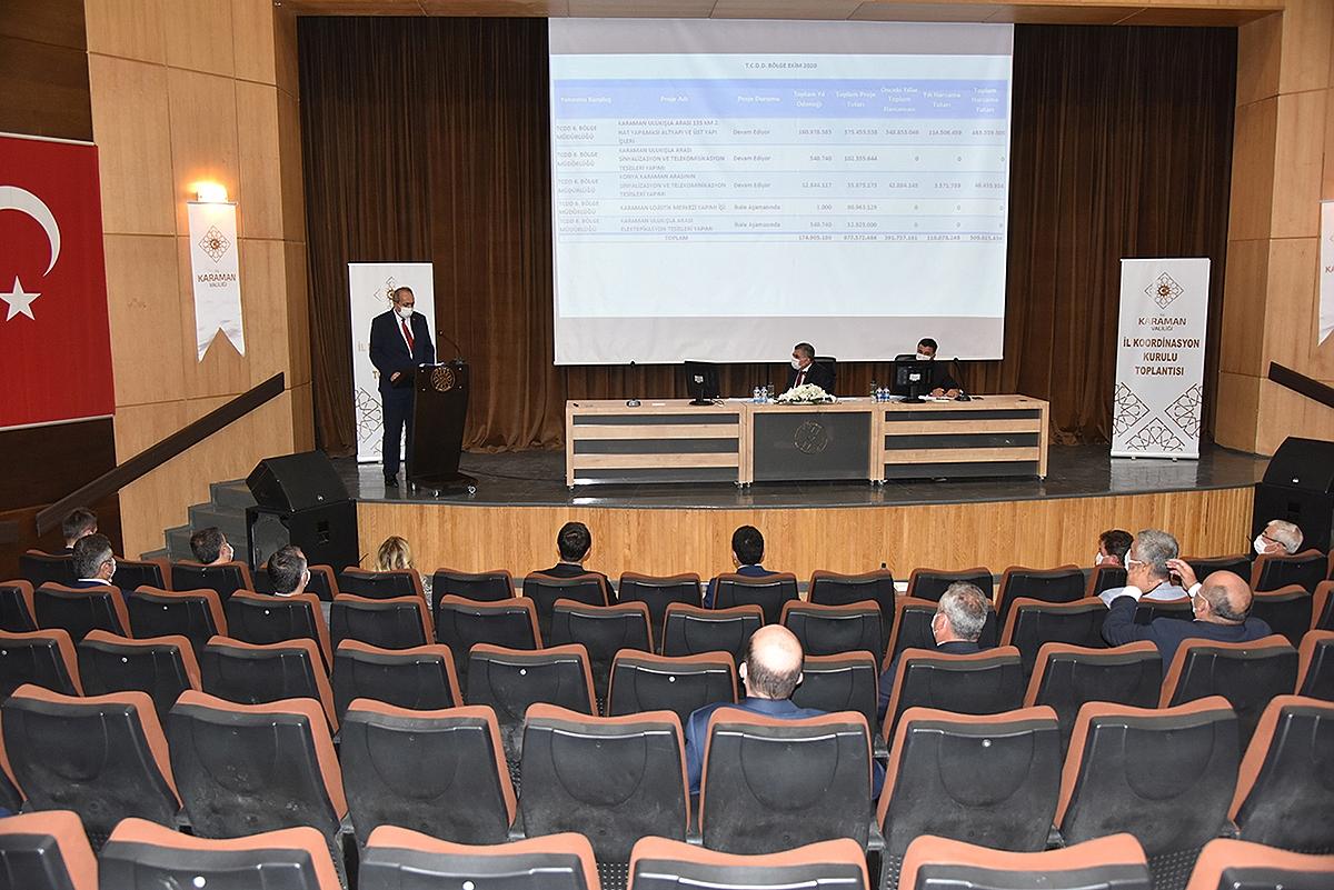 Bu Yıl Karaman'daki Yatırımlar İçin 420 Milyon TL Harcandı