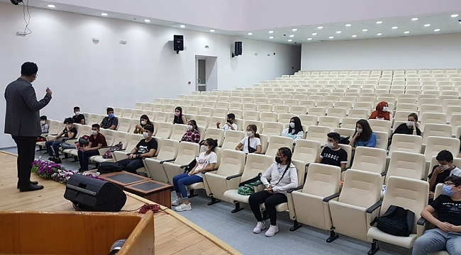 Çalışkan Öğrencileri Ziyaret Etti