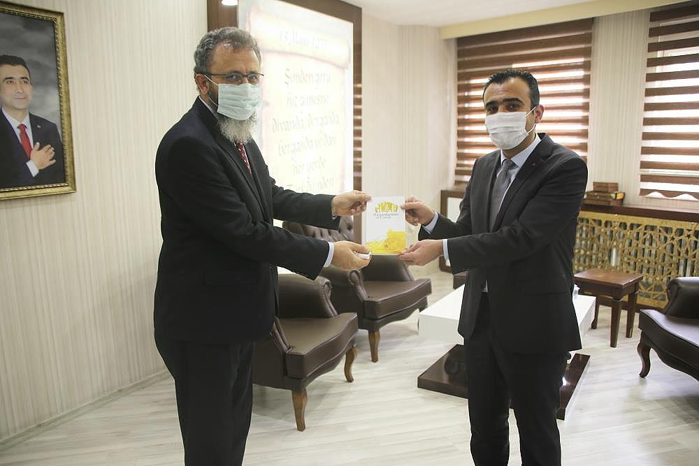 İl Müftüsü Ketenci'den Başkan Kalaycı'ya Ziyaret