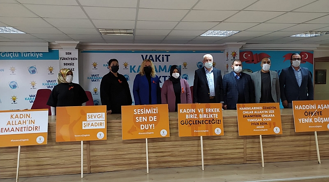 AK Parti Karaman İl Kadın Kolları;