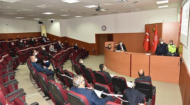 Karaman'da Kış Mevsiminde Alınacak Trafik Tedbirleri Görüşüldü