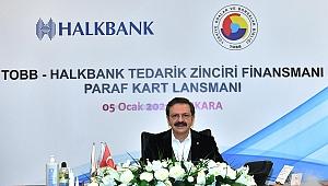 Ekrem Çavaş, TOBB – Halkbank Tedarik Zinciri Finansman Lansmanına Katıldı