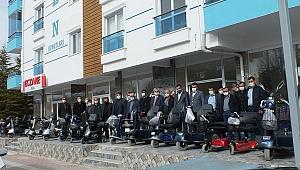 MHP'den 5 İlçe'ye Engelleri Kaldıran Hediye