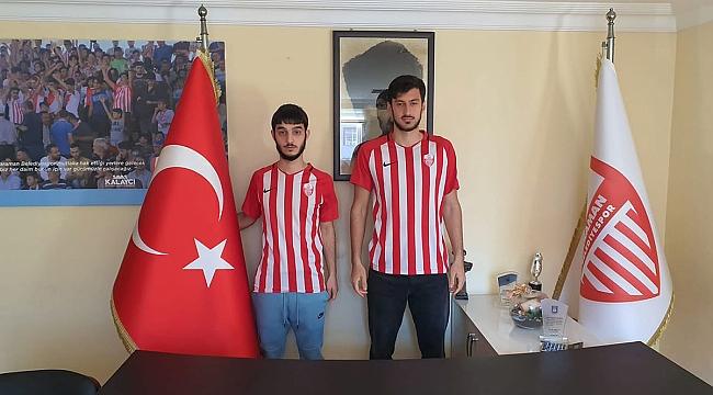 Karaman Belediyespor'a 2 Gurbetçi Futbolcu