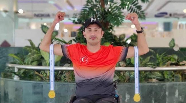 Omurilik Felçli Karamanlı Paralimpik Okçu Bahattin Hekimoğlu Engel Tanımıyor