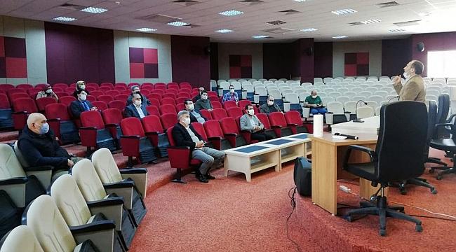 YÖGEP Kapsamında Okul Yöneticileri İslami İlimler Fakültesini Ziyaret Etti