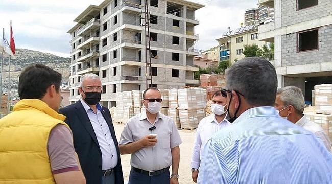 Ak Parti İl Teşkilatı Ermenek'i Ziyaret Etti