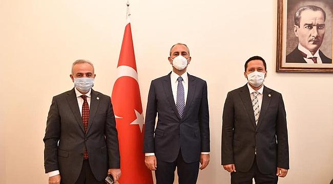 Karaman'ın Sorunlarını Bakan Gül'e İlettiler