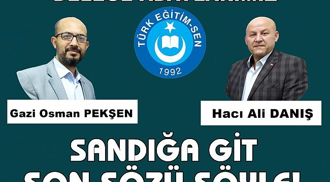 Türk Eğitim Sen İlksan Temsilci Adaylarını Belirledi