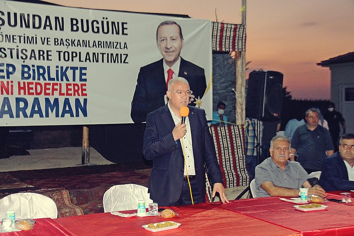 AK Partide Dünden Bugüne Görev Yapmış Başkanlar Buluştu