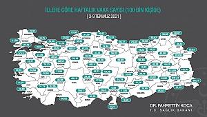 Karaman'da vaka sayısında sevindirici düşüş