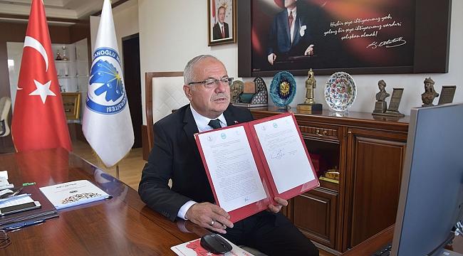 KMÜ Ve OMÜ Arasında Teknoloji Transfer Ofisi İş Birliği Protokolü İmzalandı