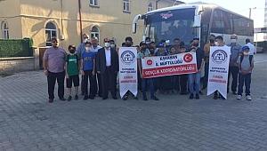 Öğrenciler Yaz Kampına Katılmak Üzere Mersin'e Uğurlandı