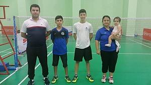 U15 Badminton Milli Takımına Karamanlı 4 Sporcu Seçildi