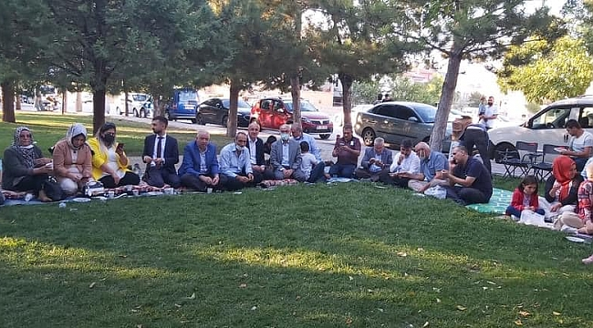 AK Parti Gençlik Kolları Gençlerle Bir araya Geldi